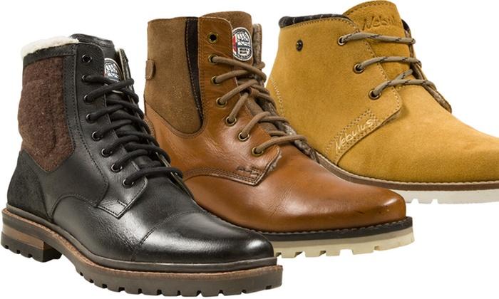 nebulus winterstiefel herren stiefel boots gefüttert schwarz