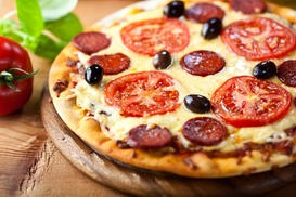 Pizza Corral: $5 Off Purchase of $30 or More at Pizza Corral