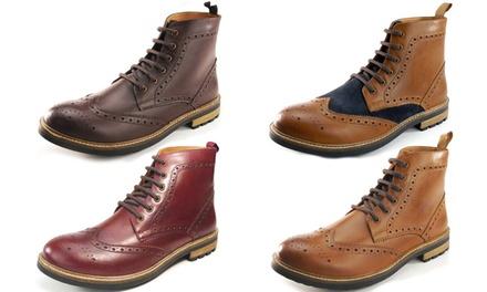 Frank James Brogue Men's Boots