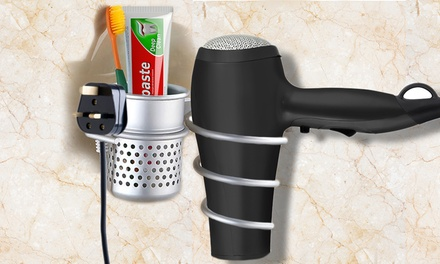 Hair Dryer and Accessories Holder