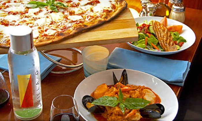 Villa-O - Oak Lawn: Contemporary Coastal Italian Cuisine for Dinner or Brunch at Villa-O (Half Off). Three Options Available.