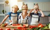 94% Off Cooking with Kids from International Open Academy