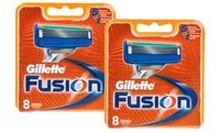 Fino a 16 lame di ricambio Gilette Fusion da 19,90 € (fino a 69% di sconto)