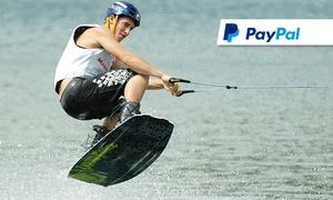 Wakeboard und Wasserskilift Friedberg: 2 Std. Wakeboard- oder Wasserski-Kurs mit Trainer für 1 Person bei Wakeboard und Wasserskilift Friedberg (45% sparen*)