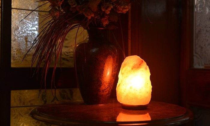 Do Salt Lamps Help Asthma : Natural Himalayan Rock Salt Lamp Groupon Goods