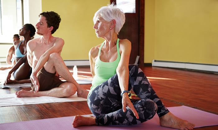 Joyful Yoga - Herndon: 10-Class Package or One Month of Unlimited Yoga Classes at Joyful Yoga (Up to 71% Off)