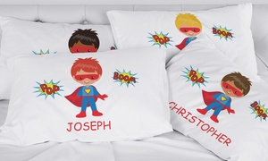 Boys' Personalized Character Pillowcase (Up to 76% Off)