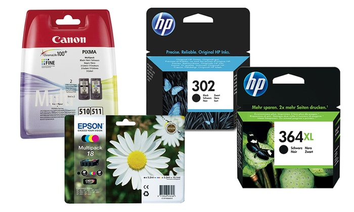 Raion Limited: HP, Canon and Epson Ink Cartridges from €12.99 With Free Delivery (Up to 38% Off)
