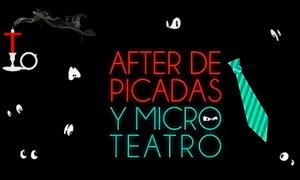 Teatro en la Oscuridad: Entrada para After de Picadas y Micro Teatro en Teatro en la Oscuridad