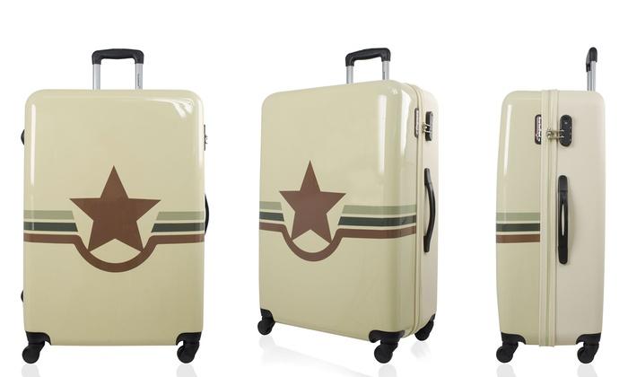 1 ou 3 valises american travel groupon. Black Bedroom Furniture Sets. Home Design Ideas