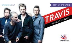 Travis at Silverstone: Travis at Silverstone: 13 July at Silverstone Circuit (Up to 25% Off)
