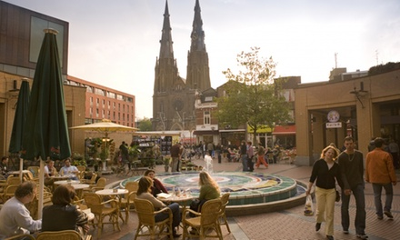 Eindhoven: deluxe 2persoonskamer incl. ontbijt en naar keuze driegangendiner in 4* Amrâth Hotel Eindhoven