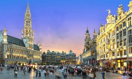 Bruxelles : Chambre Deluxe au Manos Hotel Premier 5*, petit déjeuner, spa et check out tardif pour 2 personnes