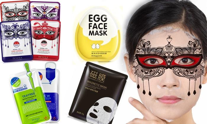 Mix di maschere coreane