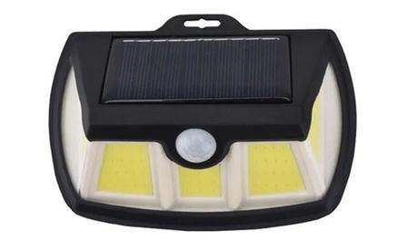 Fino a 4 faretti da 80 LED con sensore di movimento e pannello solare, con spedizione gratuita