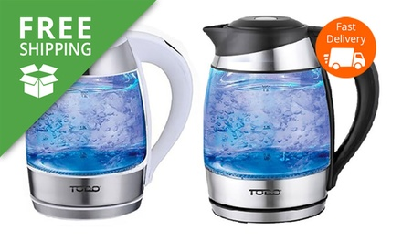 Free Shipping: $39.95 for a TODO 1.8L Temperature Control LED Glass Kettle Don't Pay $169