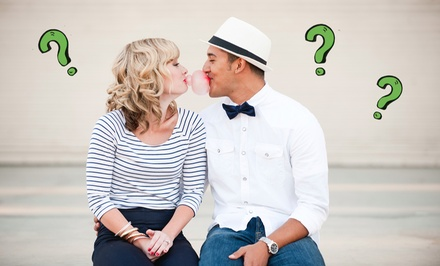 $30 for a Mystery Date for Two Near Willow Glen (Up to $60 Total Value)