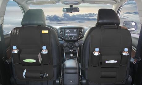 1 o 2 organizadores multifuncionales del asiento trasero del coche