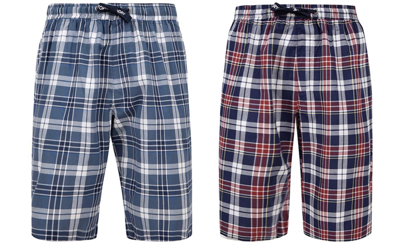 Tokyo Laundry Men's 100% Cotton Redlock Shorts