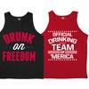 Men's Americana Drinking Tanks