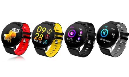 1 o 2 smartwatches redondos con anillos dinámicos