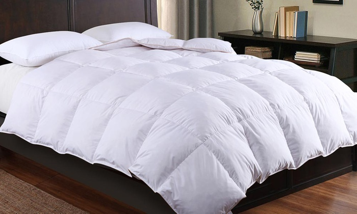 72 Off Goose And Down Duvet 13 5 Tog Groupon