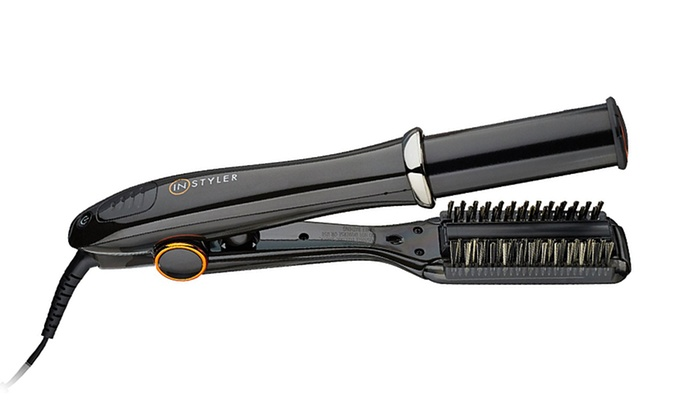 instyler curling iron how to use