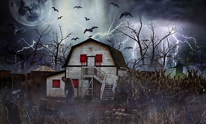 The Frightmare Compound - West Westminster: The Frightmare Compound Haunted House for Two or Four (Up to 56% Off)
