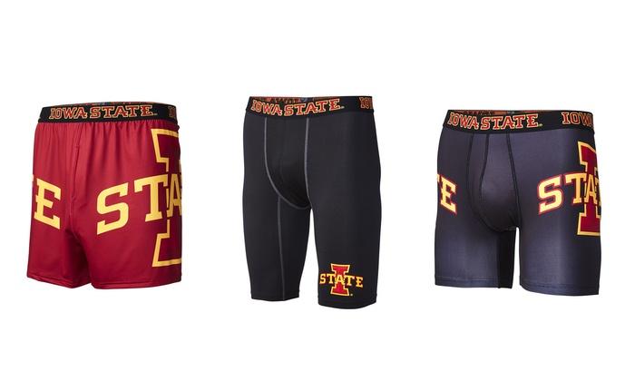 NCAA Iowa State University Men's Briefs or Compression Shorts