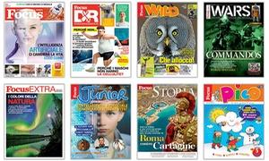 Abbonamento Focus Mondadori: Abbonamenti mensili o trimestrali per 1 o 2 anni alla rivista Focus (sconto fino a 50%)