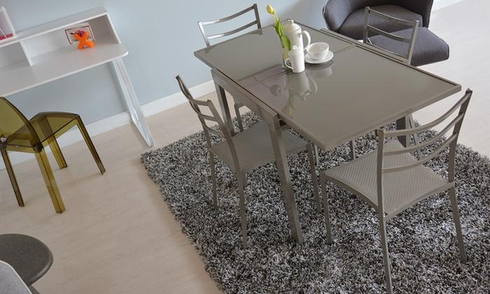 Set tavolo e sedie Pacha | Groupon Goods