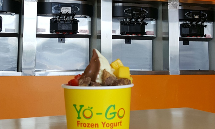 Yo-Go Yogurt - Natomas Market Place: $19.50 for Three Groupons, Each Good for $10 Worth of Frozen Yogurt at Yo-Go Yogurt ($30 Total Value)