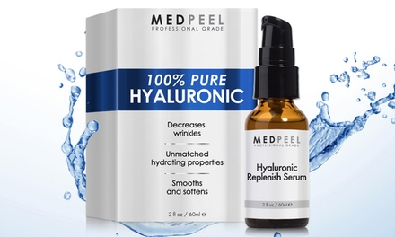 Medpeel 100% Pure Hyaluronic Serum; 2 Fl. Oz.
