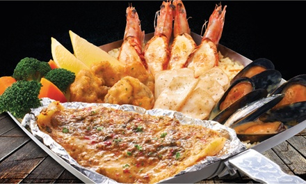 Up to Three Seafood Sharing Platters for Up to Six at The Manhattan Fish Market (Up to 47% Off)