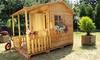 Maison de jardin bois de pin enfant