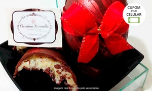 Chocolícia Provocata: Chocolícia Provocata –Altos do Itavuvu: 1 ou 2 ovos de páscoa trufados de 250 ou 500 g