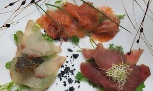 Ristorante Melphi: Menu di pesce con calice di vino per 2 o 4 persone al Ristorante Melphi di Molfetta vista mare (sconto fino a 63%)