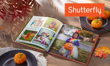 Custom Hardcover Photo Book from Shutterfly (Up to 83% Off). Five Options Available