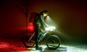 Lampe de vélo rouge