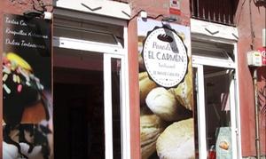 Panadería El Carmen: Empanada de 1,4kg para llevar por 11,90 € en Panadería El Carmen
