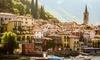 Lago di Como: camera Superior Queen in mezza pensione per 2