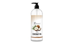 Pursonic 100% Pure Fractionated Coconut Oil 16 Fl. Oz. (1- or 2-Pack)