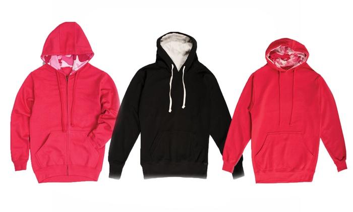 Ladies Fleece Sweatshirts | Fashion Ql