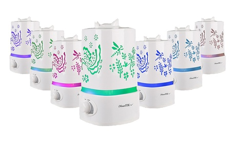 7-Color LED Ultrasonic Air Humidifier and Aroma Diffuser e7ec4e8c-2128-11e7-ba84-00259060b5da