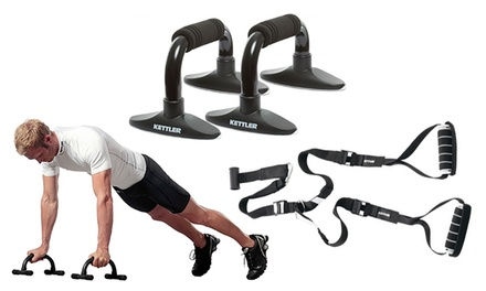 One or Two Pairs of Kettler Press-Up Handles or Sling Trainer