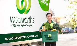 Woolworths Online: Woolworths Online: $3 for $25 to Spend on Groceries + FREE Delivery, Nationwide (Min. Spend $110)