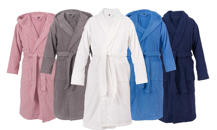 casa di bassi bathrobe groupon goods. Black Bedroom Furniture Sets. Home Design Ideas