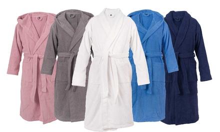 casa di bassi bathrobe