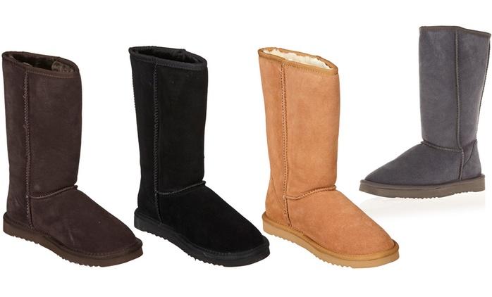 Stivali in pelle per donna disponibili in diverse misure e colori a 44,90 € (75% di sconto)