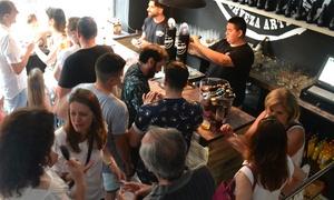 BeerShooter: Cata de cuatro cervezas artesanas con maridaje para 2, 4 u 8 personas desde 12,90 € en BeerShooter